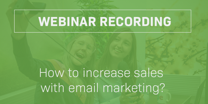 email marketing webinar liana technologies