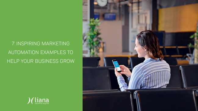 Button to download Marketing Automation guide
