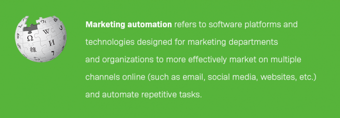 Marketing automation definition